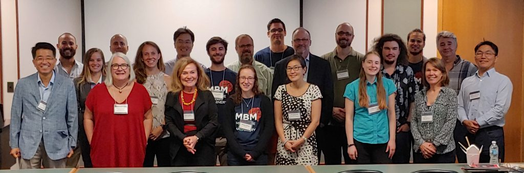 Group photo of attendees at the 2019 MBM Retreat