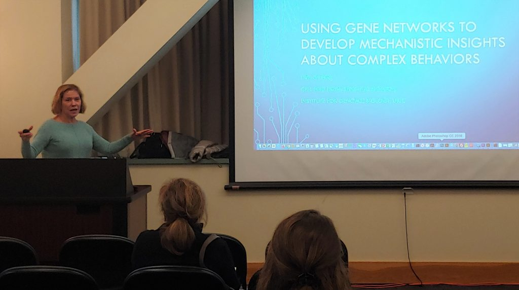 Lisa Stubbs' Frontiers in MBM lecture